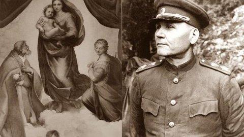 Мадонна маршала Конева